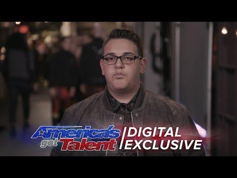 Elimination Interview: Christian Guardino Appreciates All The Support - America's Got Talent 2017