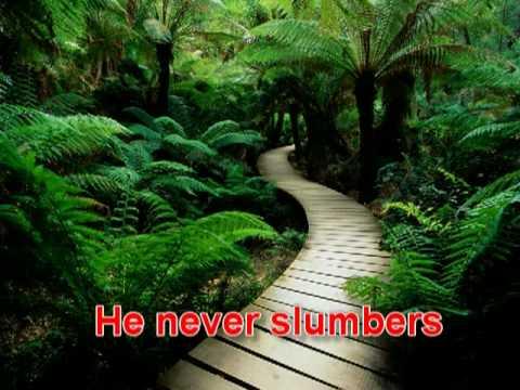 Don Moen's - He Never Sleeps He Never Slumbers ,sung by Anugraha Paul -  with lyrics