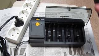 Обзор зарядного устройства GP PowerBank S320 для зарядки AA/AAA/C/D и 9 В Ni-MH-аккумуляторов