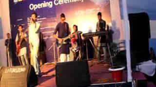beche thakar gaan live performance by shopnorajjo at bubt acm icpc 2014 5th december