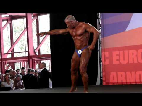 Rafael Vera - Competitor No 5 - Final - Master Over 60 - Arnold Classic Amateur Europe 2012