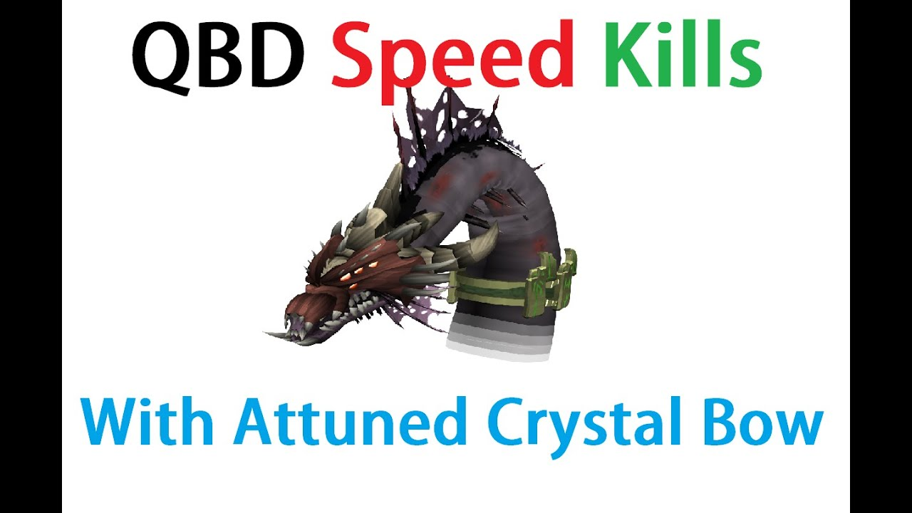 Qbd Speed Kills With Attuned Crystal Weponary Youtube