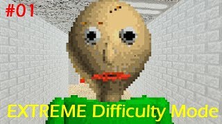 Baldi's Basics BRUTAL Mod (Extreme Hard Mode) part1