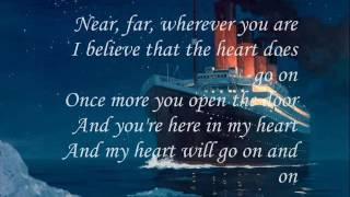 Titanic song with lyrics in English