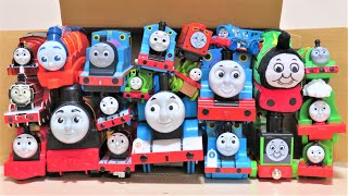 Thomas, Percy and James come out of the box Thomas & Friends Trackmaster RiChannel