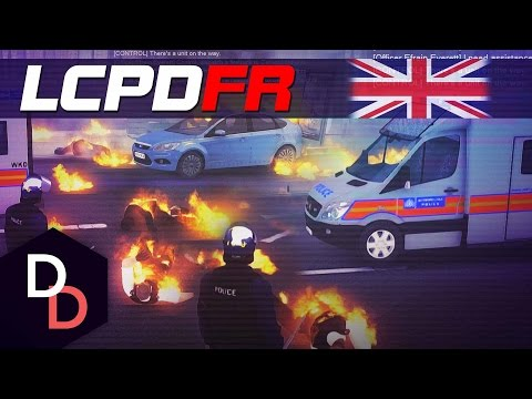 LCPDFR 1.1 The British way! - Day 104 - LONDON RIOTS! (ft. Met Police)