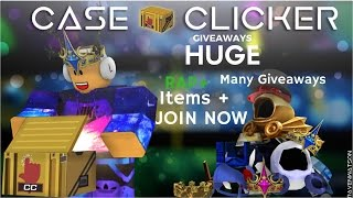 """""""ROBLOX case clicker & more - giveaways"""