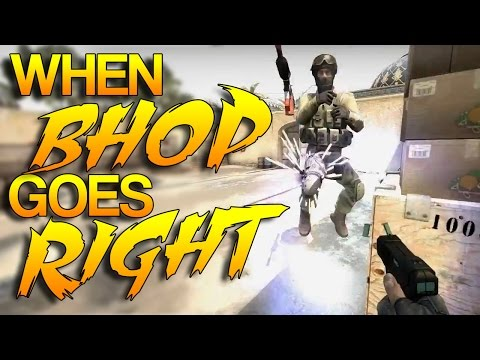 CS:GO - Bhop Goes RIGHT! #4