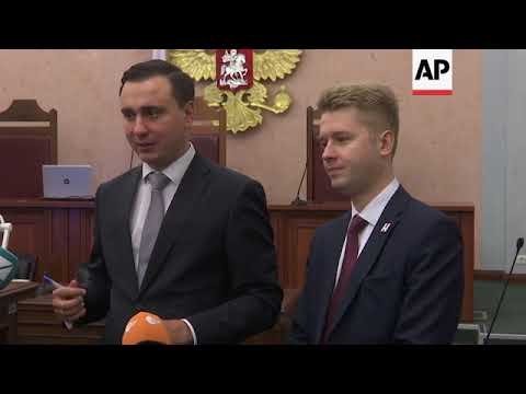 Court upholds decision to bar Navalny from election
