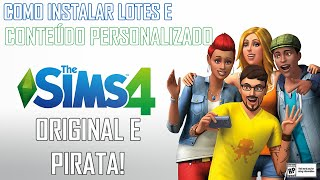 Como instalar Mods e Lotes no The Sims 4