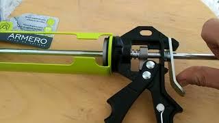 Купил Испанский пистолет для герметика, обзор