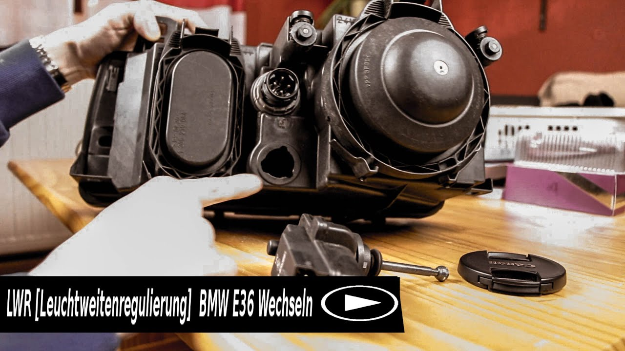 lwr leuchtweitenregulierung bmw e36 wechseln youtube. Black Bedroom Furniture Sets. Home Design Ideas
