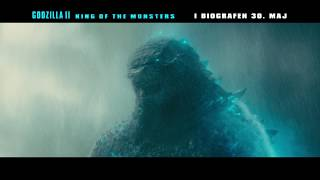 Godzilla II King of the Monsters - 20 sek. video - I biografen 30. maj.