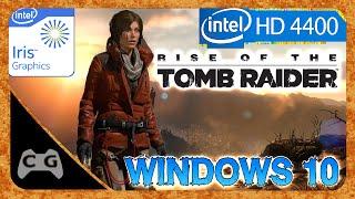 Rise of the Tomb Raider Gameplay Intel HD Graphics - Teste no Windows 10 #142