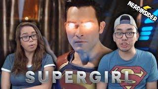 SUPERGIRL Season 2 FINALE Episode 22 REACTION Superman VS Supergirl REVIEW