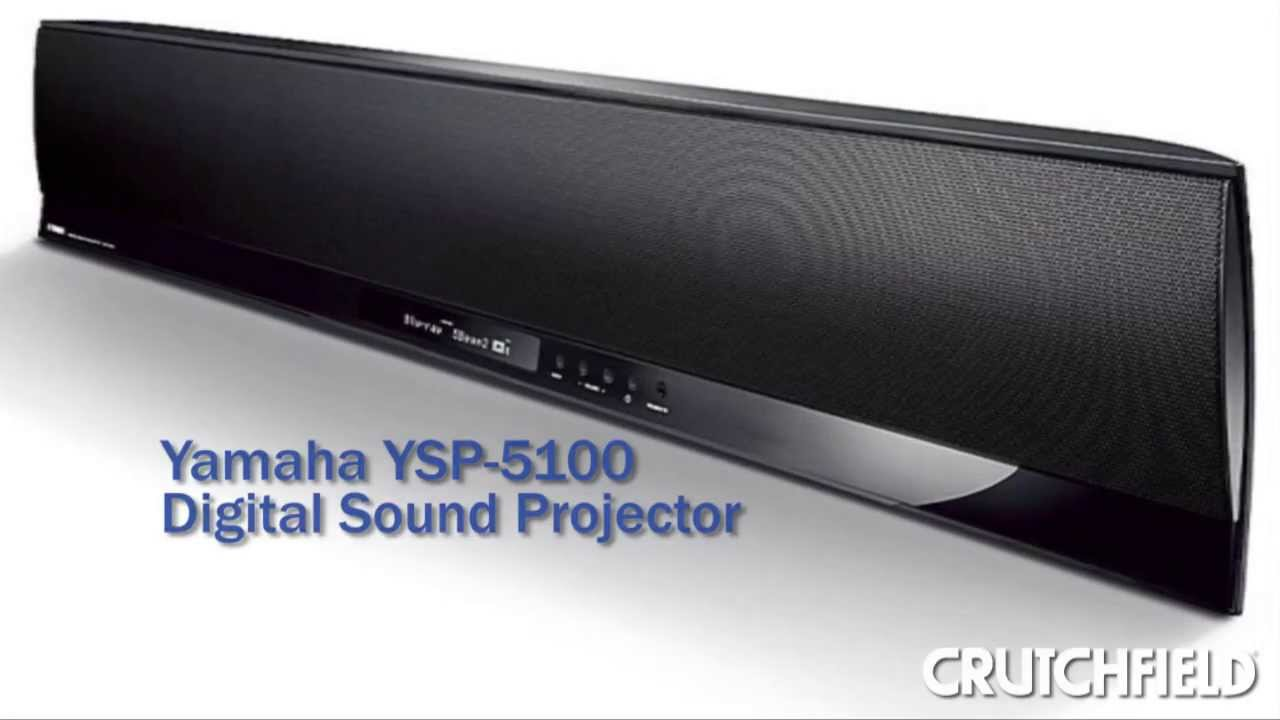 yamaha ysp 5100 digital sound projector sound bar review. Black Bedroom Furniture Sets. Home Design Ideas