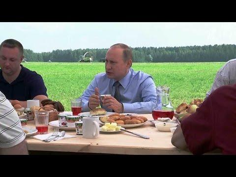 Разговор о развитии сельского хозяйства с участием президента прошел в Тверской области.