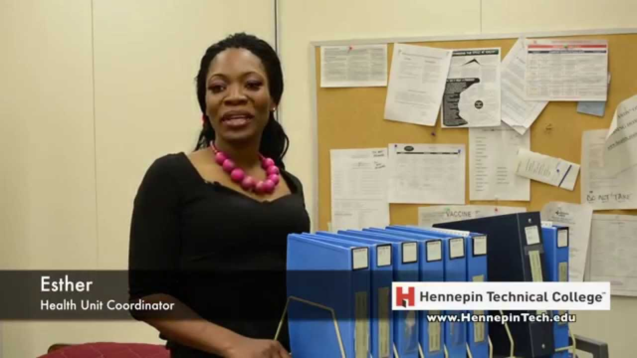 Health Unit Coordinator Esther - YouTube