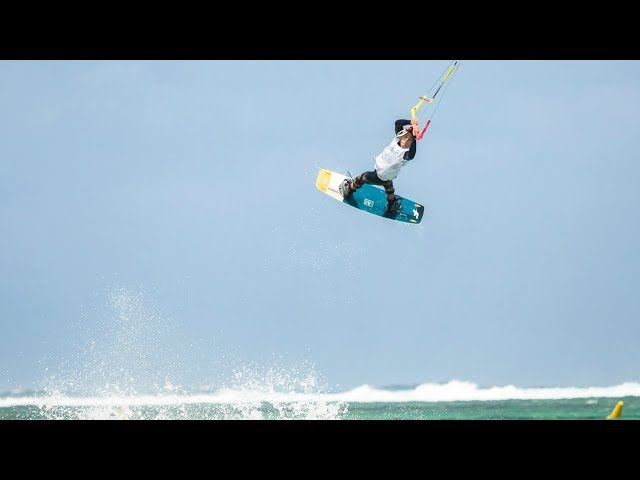 KITEBOARDING FREESTYLE ACTION AT BEL OMBRE | DAY 3 | GKA MAURITIUS