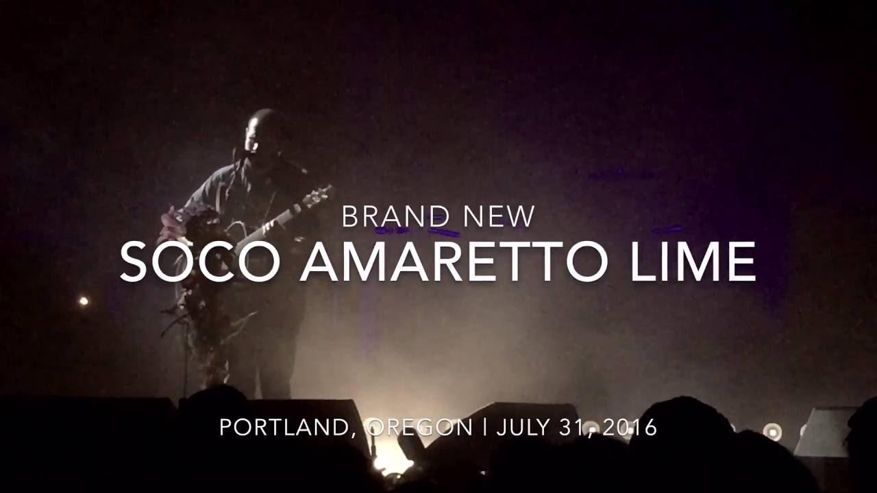 Brand New   Soco Amaretto Lime [Portland   July 15, 15] Chords ...