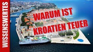 Urlaubsland Kroatien 🇭🇷 - Warum Kroatien so teuer ist 💶