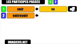 Урок французского языка = причастий прошедшего # OIR   U # 1