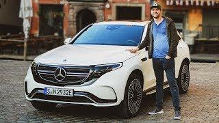 WELTPREMIERE des Mercedes-Benz EQC! Der erste vollelektrische Mercedes EQ