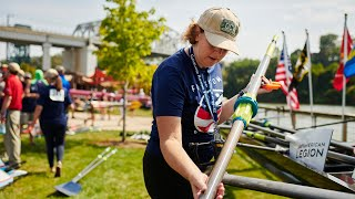 Ohio American Legion sponsors veteran rowing team in Cleveland
