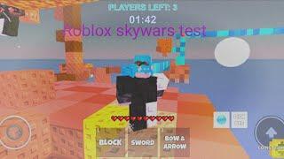 Roblox skywars Test ist am besten oder ist es