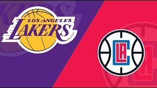 Lakers vs Clippers Livestream