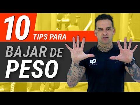 10 Tips para Bajar de Peso y Adelgazar Rápido y Fácil