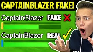 INCONTRO CAPTAINBLAZER FALSO durante una PARTITA!! 😮 *NON CI CREDO* | FORTNITE ITA
