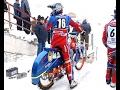 участники Кубка России по мотогонкам на льду в Вятских Полянах провели генеральную тренировку