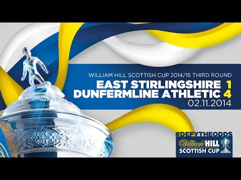 East Stirlingshire 1-4 Dunfermline Athletic // William Hill Scottish Cup 2014-15 Third Round