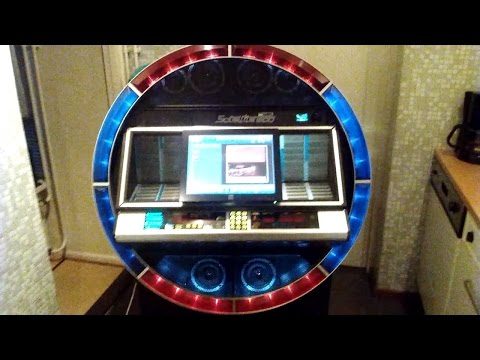 My other Hobby ,The love for Music , 1984 NSM Satellite Mp3 Touchscreen Jukebox