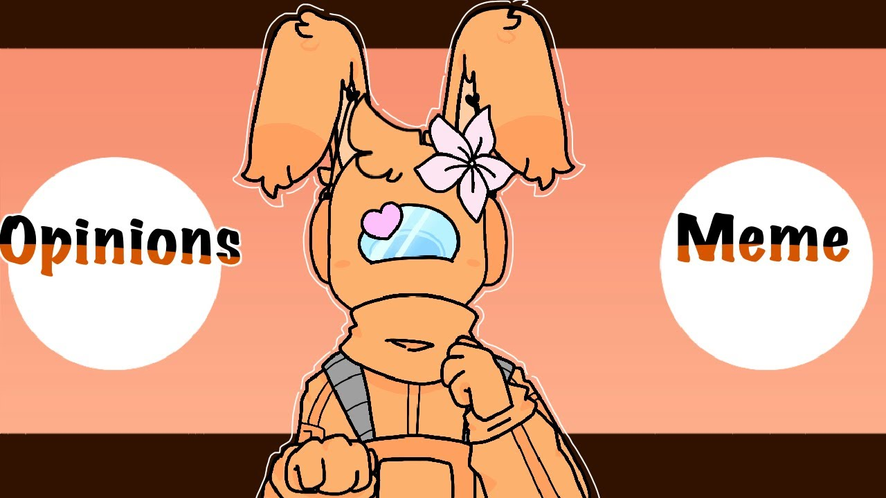 Opinions animation meme (Among us Orange)