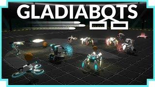 Gladiabots - (Programmable Robot Battle Arena Game)