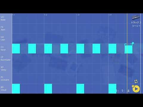 画像2: 03 ハットを入れてみる バレッドプレス KORG Gadget for Nintendo Switch講座 www.youtube.com
