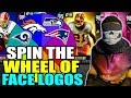 SPIN THE WHEEL OF TEAMS WITH FACE LOGOS! Madden 19 Ultimate Team Squad Builder