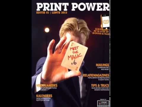 Layar - Print Power Magic Interactive Print Cover