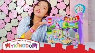 Mở hộp và Lắp ráp Cửa Hàng Yogurt Heartlake 41320 | Review  LEGO FRIENDS Bữa Tiệc Bãi Biển