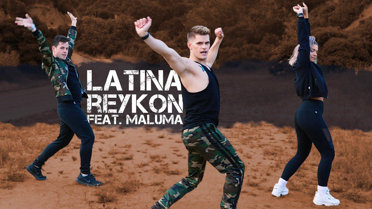 Latina - Reykon feat. Maluma | Caleb Marshall | Dance Workout