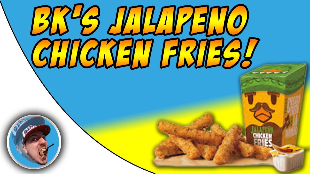 Burger Kings Jalapeno Chicken Fries