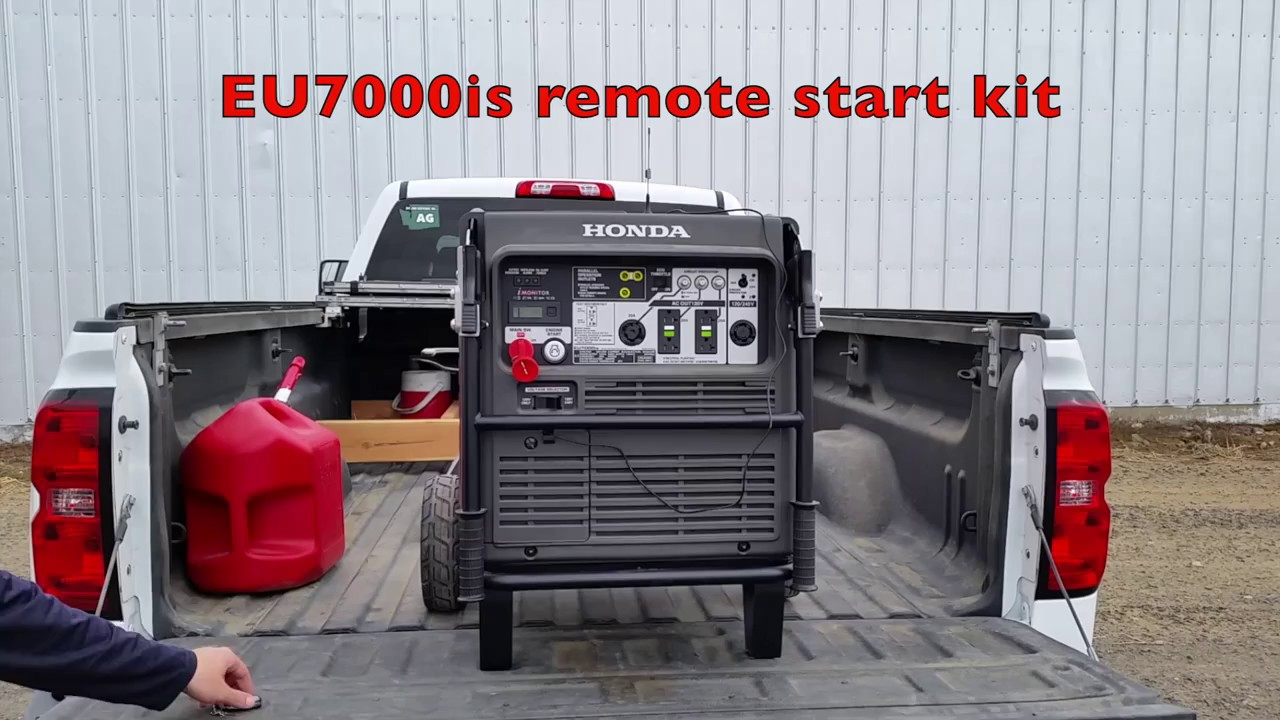 Honda EU7000is EZ wireless remote start kit