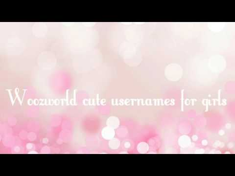 10 cutest woozworld usernames for girls❤ - YouTube
