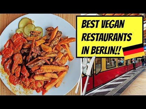 BEST VEGAN RESTAURANTS IN BERLIN!! 🇩🇪🇩🇪 GERMANY!!