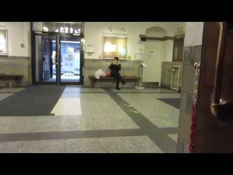 Weird Danish Elevator