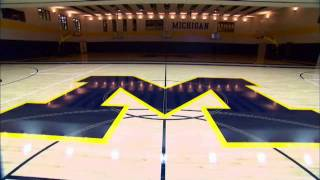 Tour of Michigan's Player Development Center
