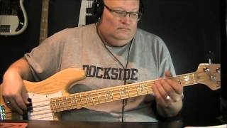 Billy Idol Mony Mony Bass Cover with Notes and Tablature
