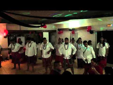 Danse Wallis et Futuna 2015 - Prestation du groupe Ofaina - Anniversaire Manu Fuahea